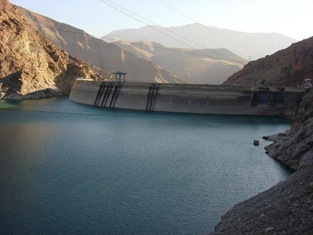 100 میلیون مترمکعب آب وارد سد های استقلال و شمیل و نیان شد