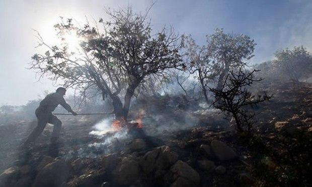 مردم از روشن کردن آتش در مراتع پاسارگاد خودداری کنند