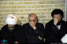 مراسم عزاداری شهات حضرت زهرا(س) در بیت تاریخی امام خمینی در قم