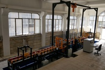 آزمایشگاه تست هیدوراستاتیک مخازن CNG بروجرد بهره برداری شد