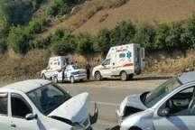 آماده باش آمبولانس های اورژانس درجاده های مازندران در تعطیلات عیدفطر