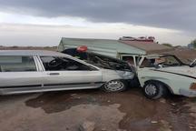 تصادف رانندگی در نیشابور سه مصدوم داشت