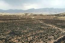 آتشسوزی 11 هکتار از مزارع کشاورزی چمگز و میدان بزرگ بر اثر صاعقه