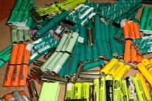 باطری قلمی قاچاق به ارزش 400 میلیون ریال کشف شد