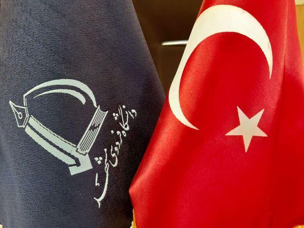 جمعی از دانشجویان دانشگاههای ترکیه از دانشگاه فردوسی مشهد دیدن کردند