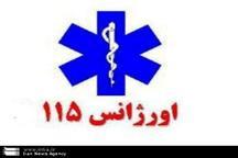 نوزاد عجول باخرزی در آمبولانس اورژانس متولد شد