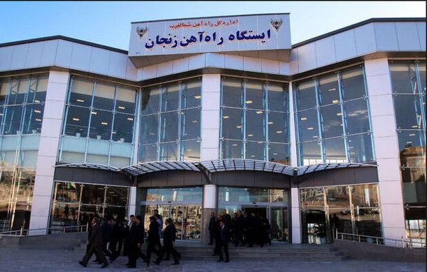 قطار کاروان عشق به سیل عاشقان اباعبدالله (ع ) در زنجان پیوست