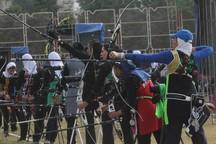بانوان همدان قهرمان المپیاد تیراندازی با کمان غرب کشور شدند