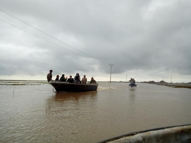 آخرین گزارش خبرنگار ایرنا از وضعیت سیل در گمیشان