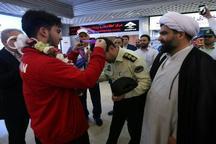 مرادی قهرمان تیر و کمان جوانان جهان مدال خود را به شهدای خیابان پاسداران تهران تقدیم کرد