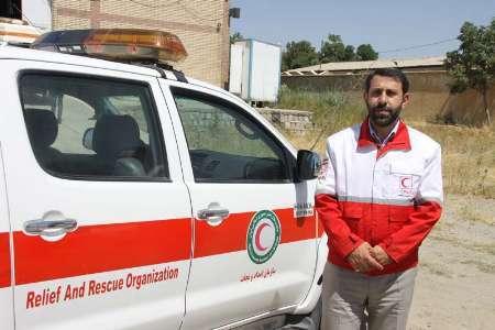 امداد رسانی به 1050 مسافر توسط امدادگران هلال احمر بروجرد