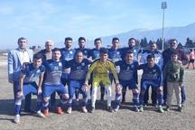 تیم فوتبال دارایی گز مقابل میزبان تهرانی به برتری رسید