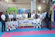 مسابقات قهرمانی کاراته کارگران قزوین پایان یافت
