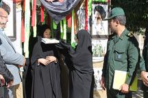 280 دانش آموز اراکی به مناطق عملیاتی دفاع مقدس اعزام شدند