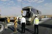امداد رسانی به مسافران 2 اتوبوس درجاده هراز