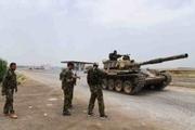 کشته شدن 5 فرمانده خارجی تروریست ها در حمله موشکی در شمال سوریه