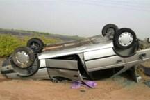 واژگونی خودرو 4 دانش آموز فسایی را راهی بیمارستان کرد