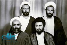 جوانی آیت الله مرتضی تهرانی و آیت الله مصطفی خمینی + عکس