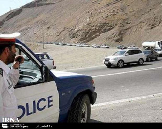 تردد خودروها از کرج به چالوس ممنوع شد