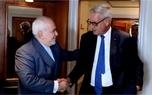 دیدار و گفتوگوی ظریف با نخستوزیر اسبق سوئد