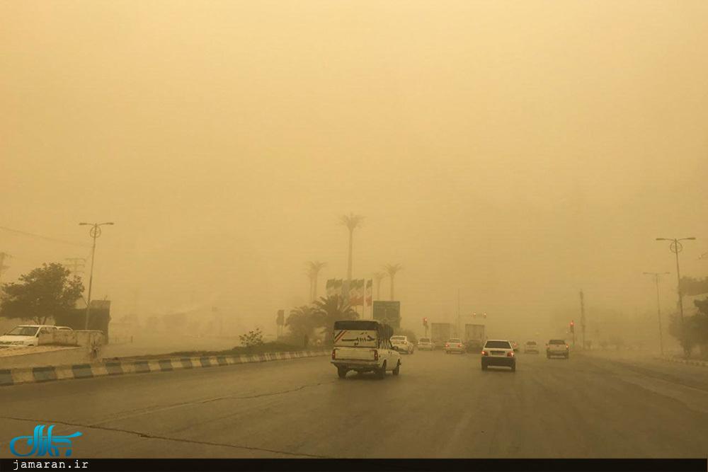 آلودگی هوای اهواز به ۷۰ برابر حد مجاز رسیده و مردم در خانه ها محبوس شدند
