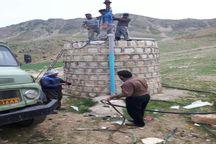 مشکل قطعی آب آشامیدنی روستاهای پلدختر برطرف شد