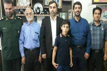 خانواده شهید ورزشکار مدافع حرم در قزوین مورد تجلیل قرار گرفت