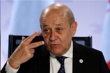 وزیر خارجه فرانسه جنگ یمن را «جنگ کثیف» نامید