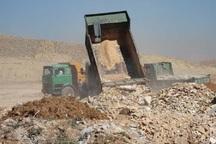 عاملان تخلیه پسماند و نخاله در قزوین بازداشت شدند