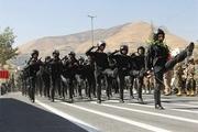 رژه نیروهای مسلح استان مرکزی برگزار شد