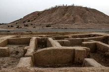 2 میلیارد ریال برای مرمت تپه باستانی ارگ نادری شیروان هزینه شد