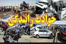 ۳ کشته و مصدوم در برخورد پراید با تریلر در جاده قدیم خرمشهر