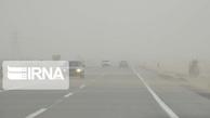 مه، تردد خودروها را در گردنههای خراسان شمالی مختل کرد