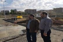 نصب تجهیزات ترافیکی در بلوار شهید ناصربخت و سه تقاطع فرماندهی