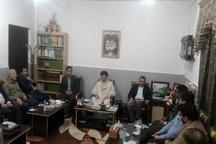دیدار جمعی از فعالان جامعه کارگری با امام جمعه دزفول