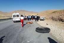 تصادف رانندگی در سرپل ذهاب یک کشته و 2 مصدوم برجا گذاشت