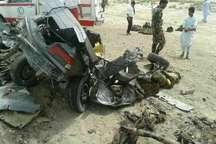 سانحه رانندگی در مسیر خاش - سراوان چهار کشته برجای گذاشت