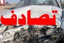 اتوبوس دانش آموزان یزدی تصادف کرد  2 دانش آموز مصدوم شدند