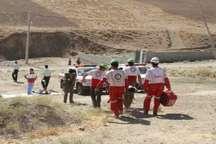 مصدومیت 2 کوهنورد البرزی به علت سقوط از ارتفاع
