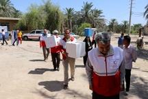 آغاز طرح فطرانه جمعیت هلال احمر در مناطق سیل زده خوزستان