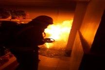آتش پنهان مغازهای در تبریز اطفاء شد
