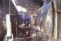 انفجار دیگ بخار باعث آتش سوزی در انبار تاسیسات شرکت کاله آمل شد