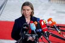 موگرینی:  دولت آمریکا اطمینان داد که متعهد به اجرای کامل برجام خواهد بود