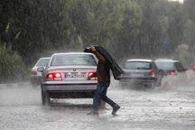 بارش تگرگ و رگبار تا پنجشنبه برای فارس پیش بینی شده است