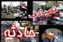 تصادف رانندگی در جاده های زنجان طی 24 ساعت اخیر 2 قربانی گرفت