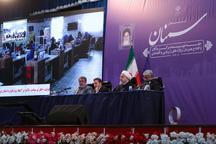 با حضور رئیسجمهور عملیات اجرایی ۴۶ پروژه زیربنایی، فرهنگی و اقتصادی در استان سمنان افتتاح و آغاز شد