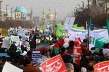 حضور مردم خراسانرضوی در جشن انقلاب