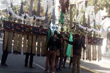 آئین عزاداری عاشورای حسینی در کردستان آغاز شد