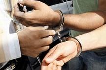 دستگیری سارق حرفهای لوازم داخلی خودرو در خانیآباد