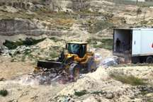 201 تن خرمای اسرائیلی در مرز بازرگان معدوم شد